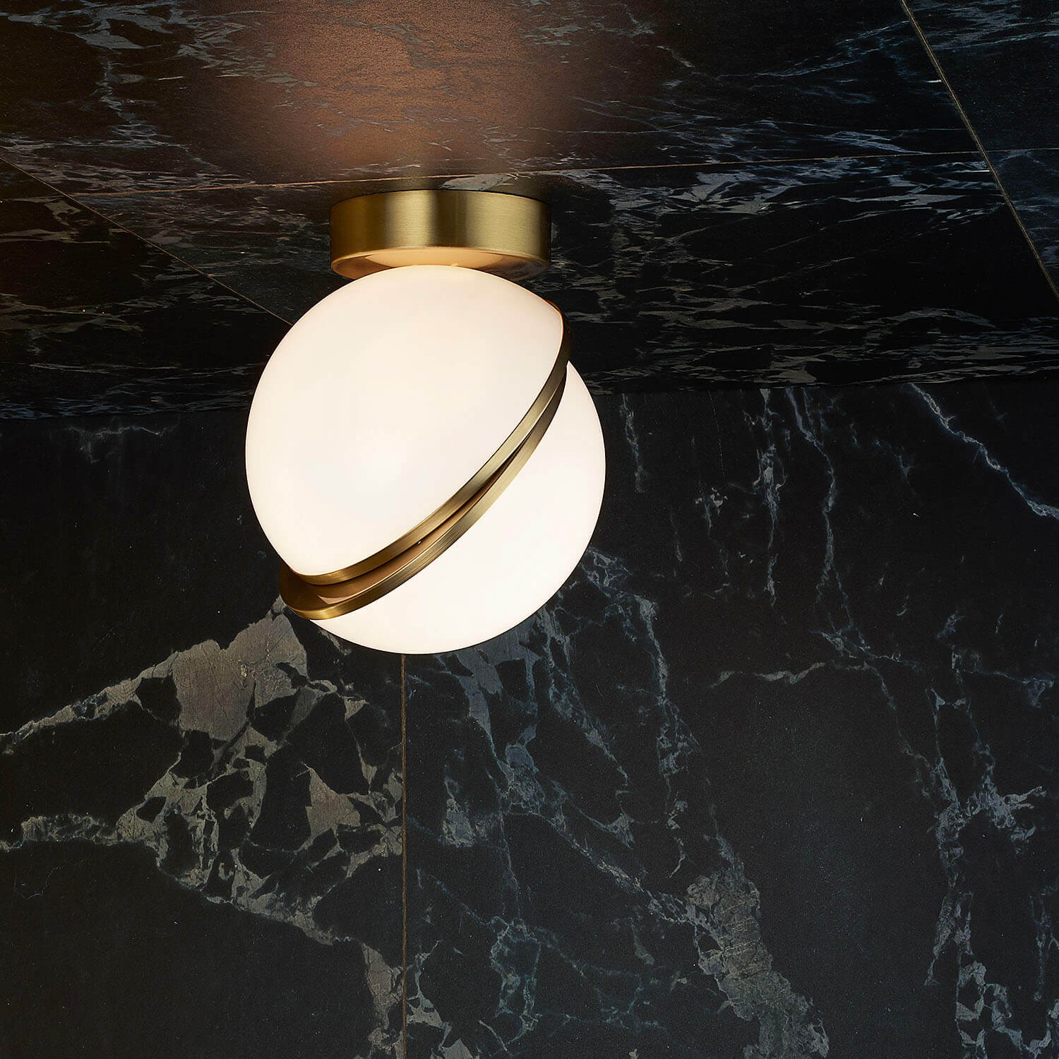 Mini Crescent Ceiling Light Kooku