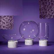 Podium Globe Black Marble