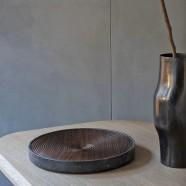 Spinner fruit bowl