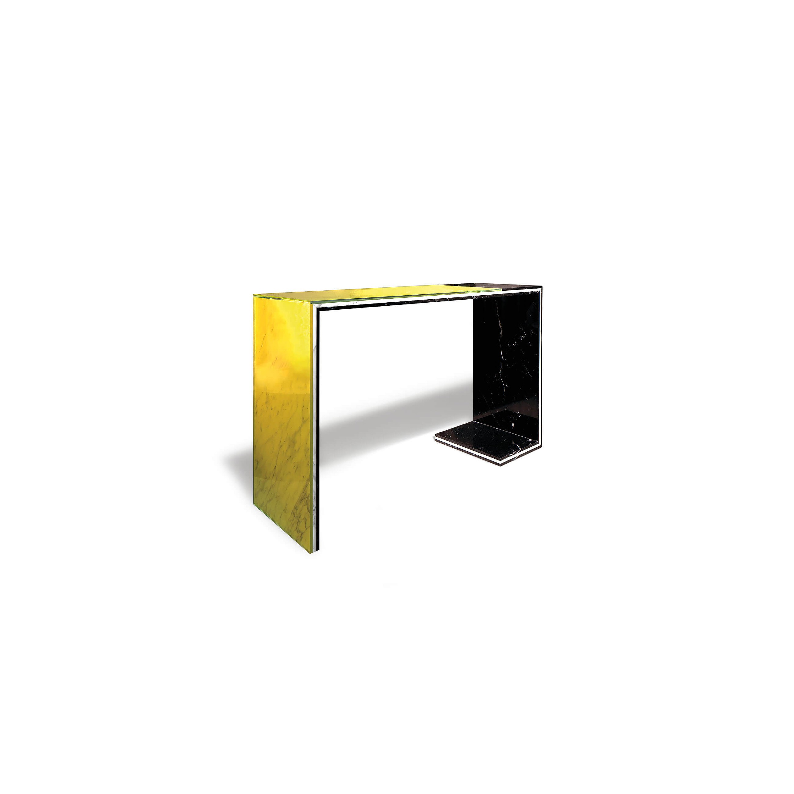 Acid Marble Console Table ...
