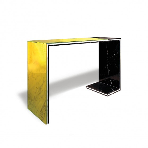Acid Marble Console Table