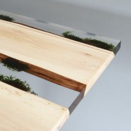 Moss Table 3 planks