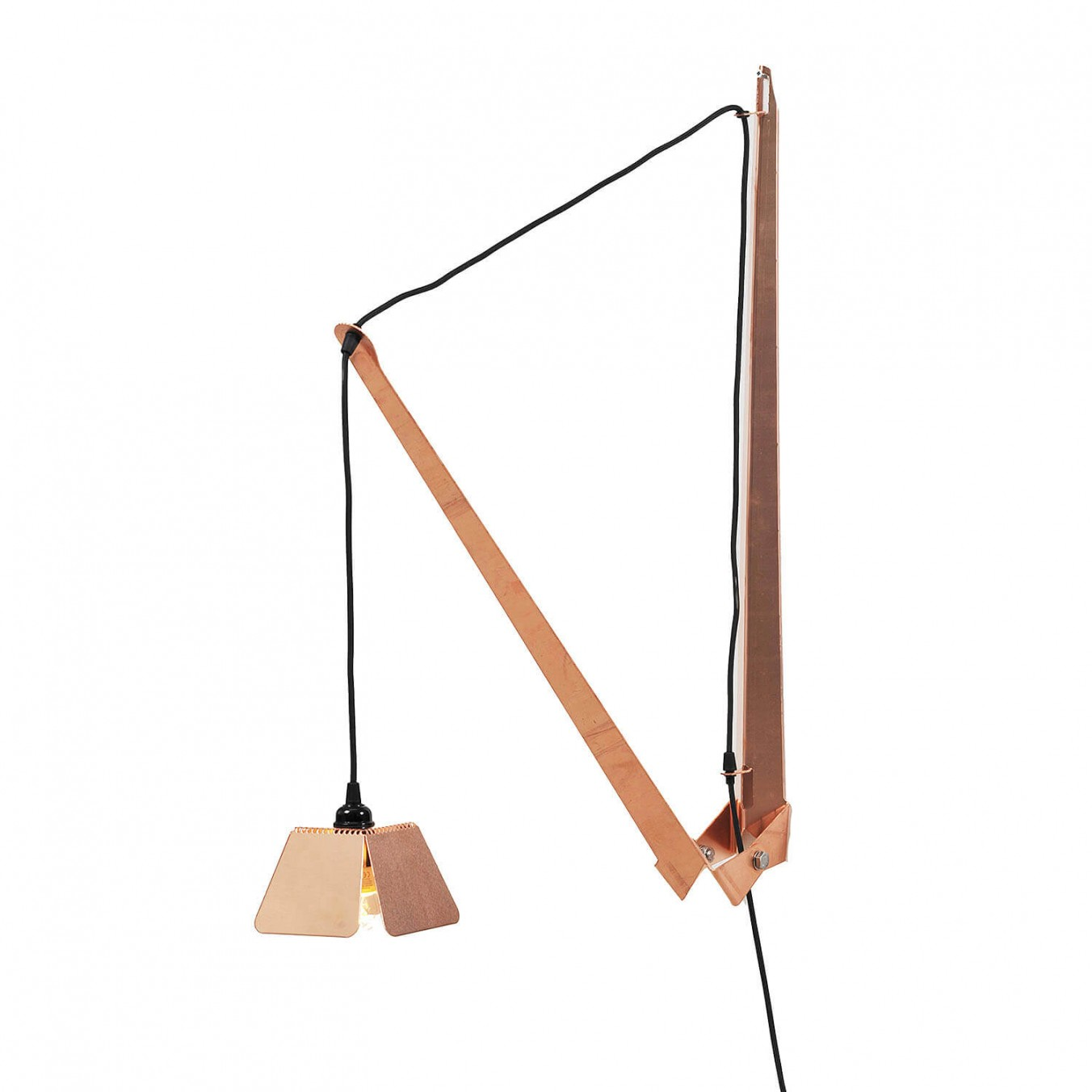 Hand Folded Lamp 2