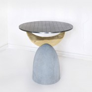 HALF MOON COFFEE TABLE 1