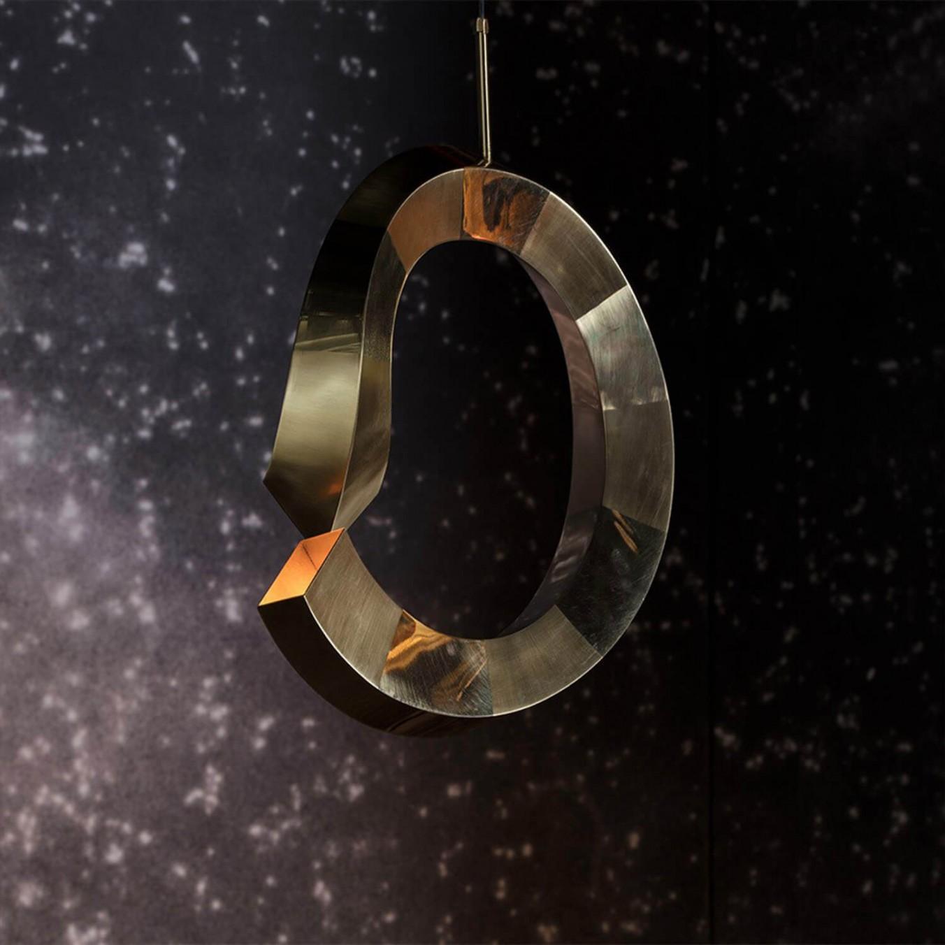 Small Spiral Light Pendant