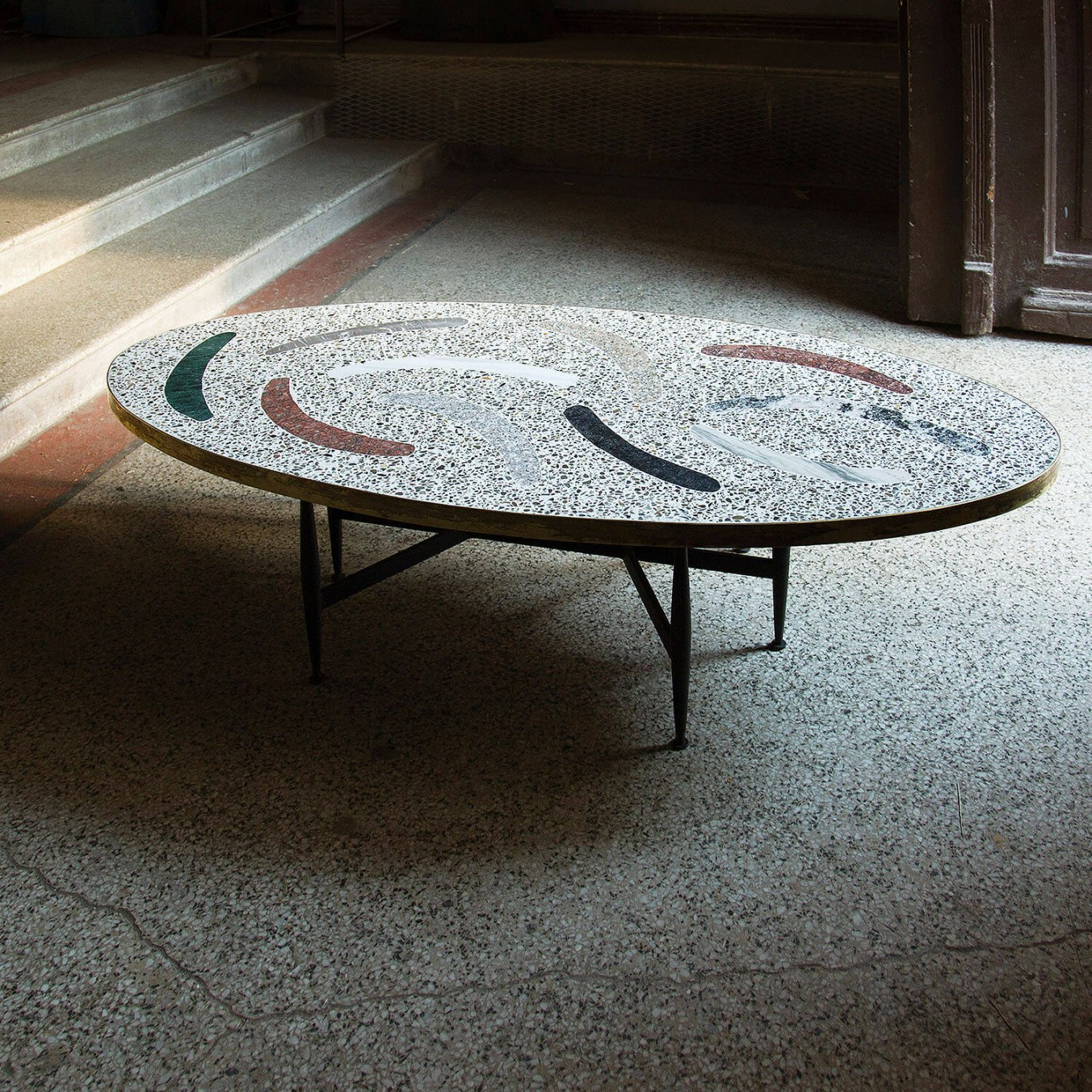 Magic Stone Boomerang Coffee Table