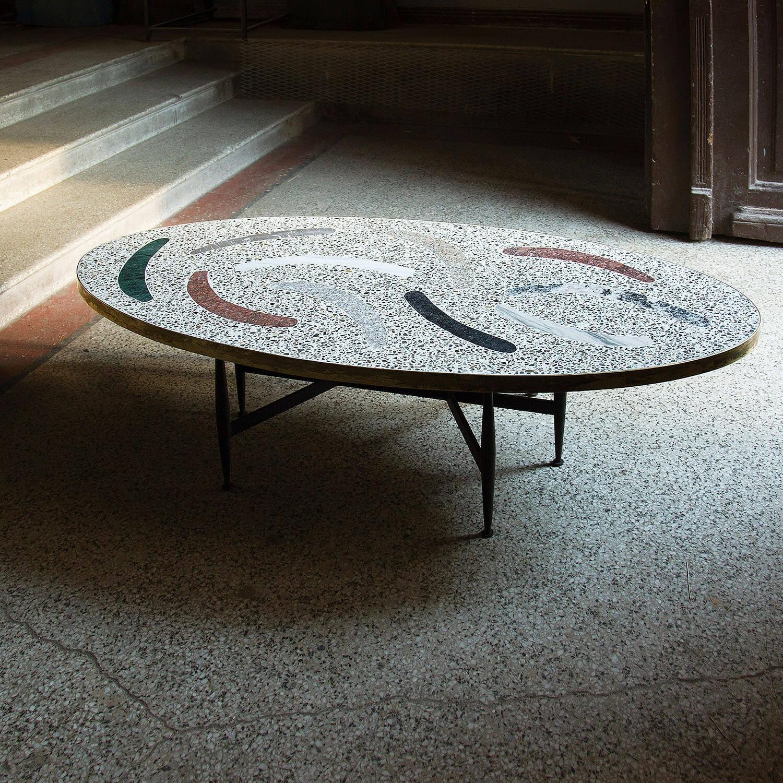 Magic Stone Boomerang Coffee Table Kooku