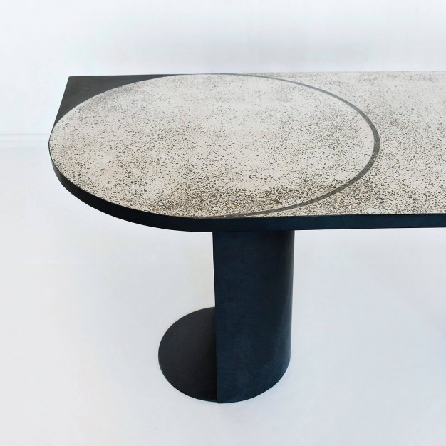 Magic Stone Geometric Table