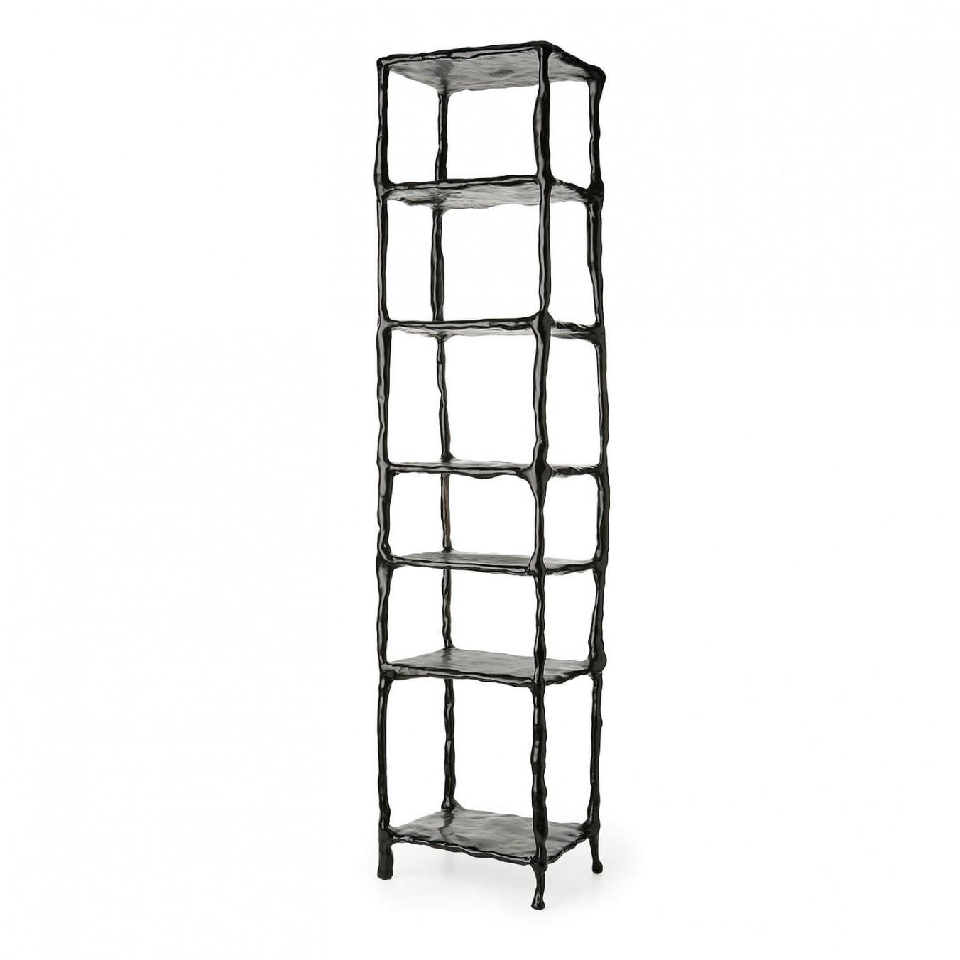 Clay bookshelves