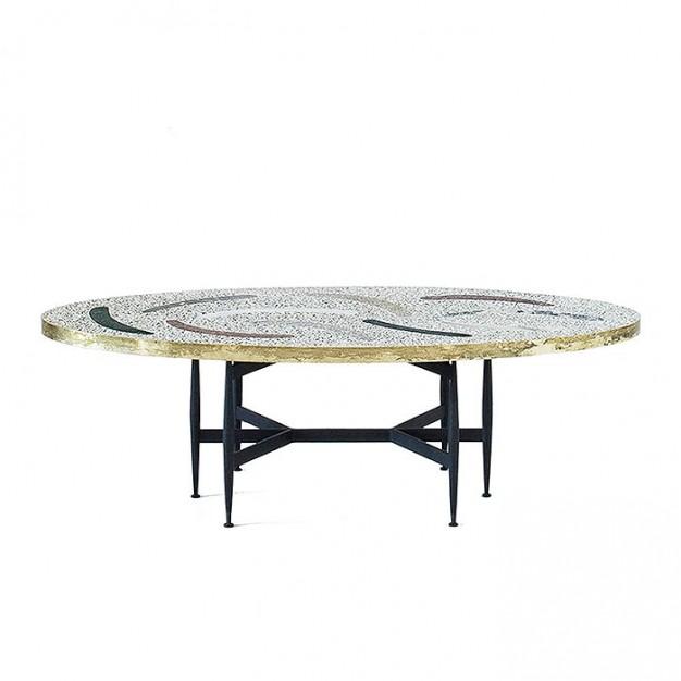 Magic Stone Boomerang Coffee Table