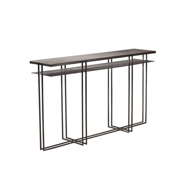 SLATE CROSS BINATE Console Table