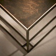 BRASS BINATE Coffee Table