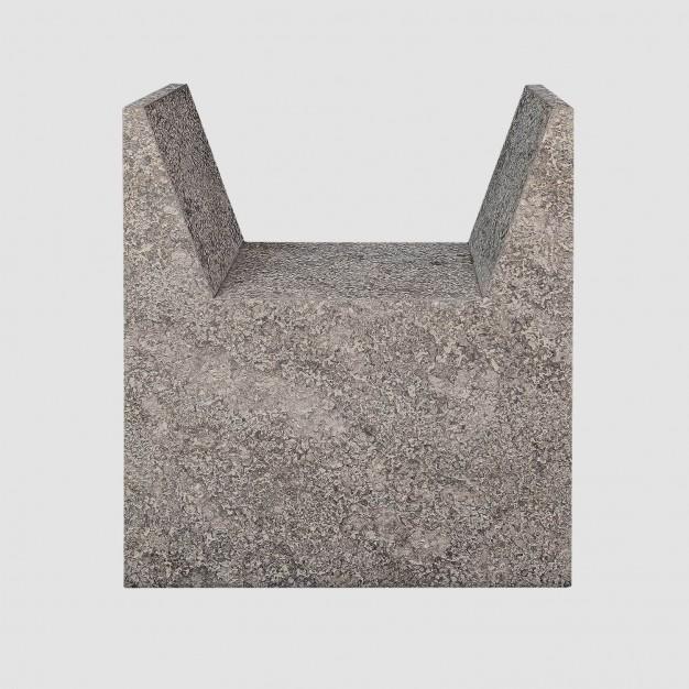 A D STOOL Stone