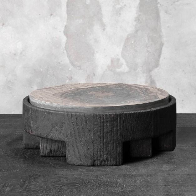 Disk Tray Stone Small