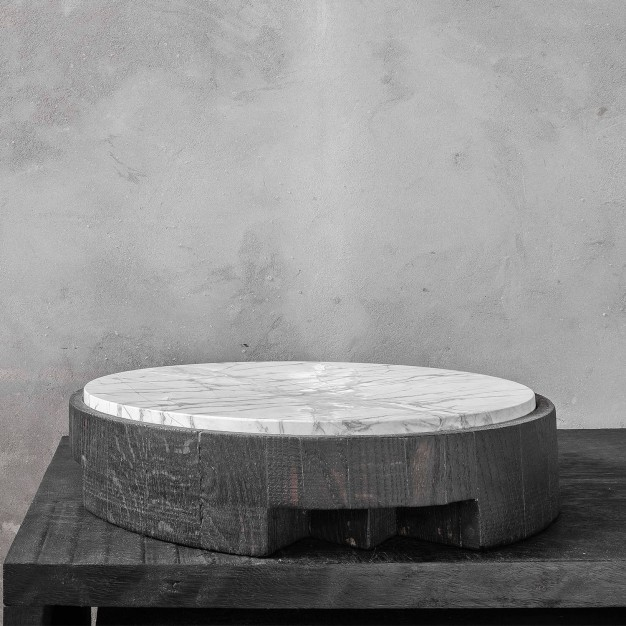 Disk Tray Stone Large