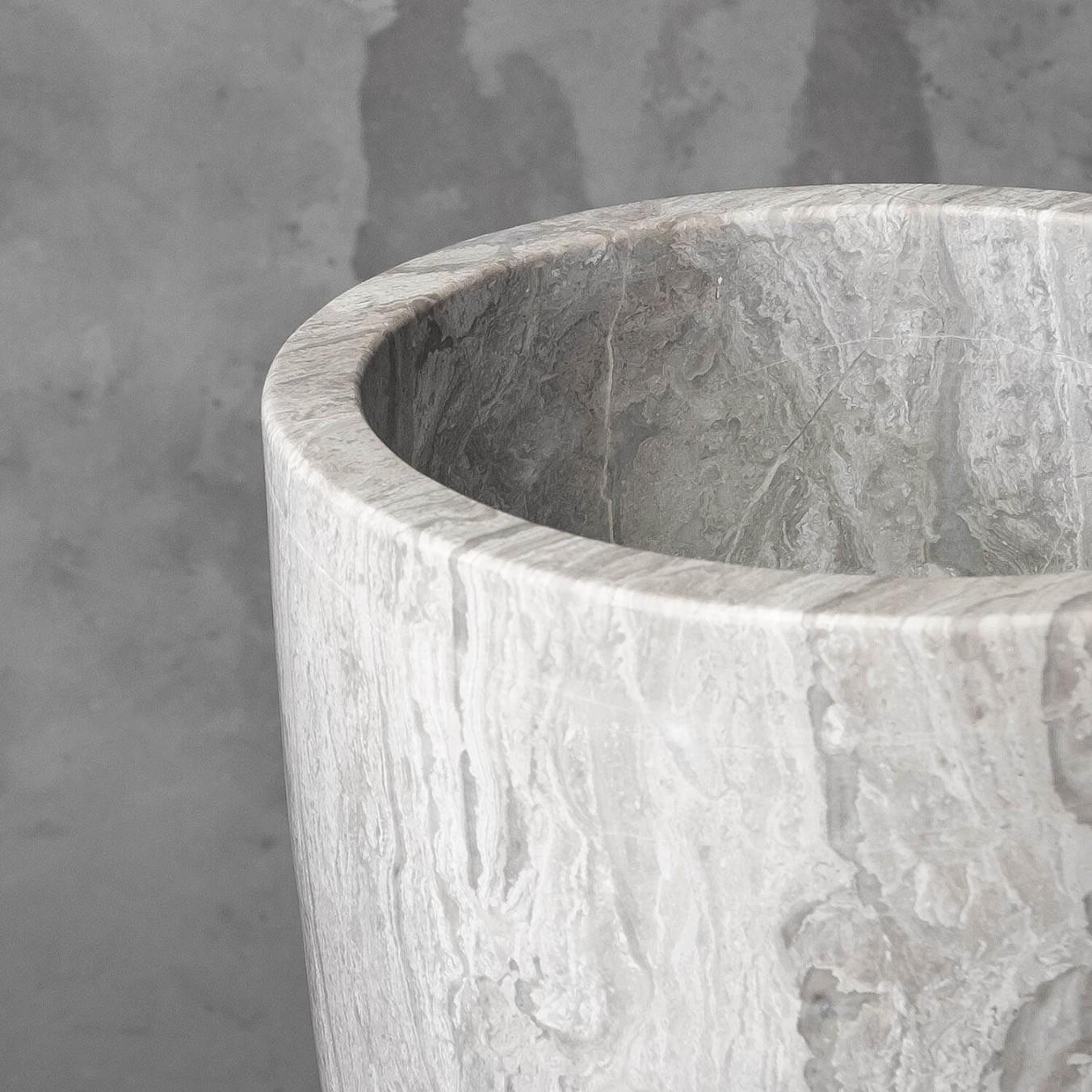 Babel Vase Marble