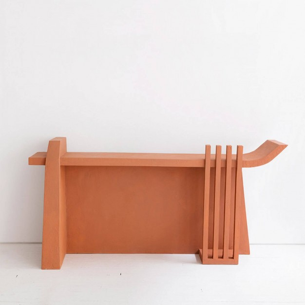 Terracotta Console
