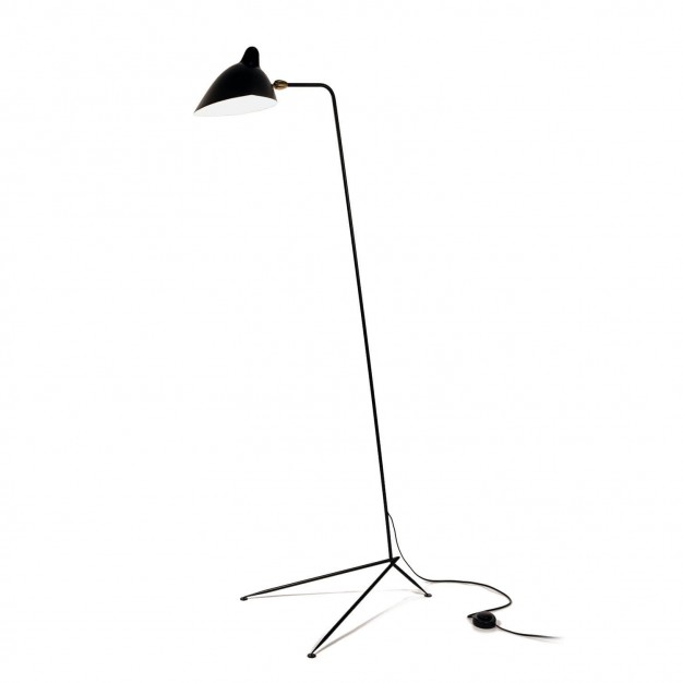 Serge Mouille straight Floor Lamp