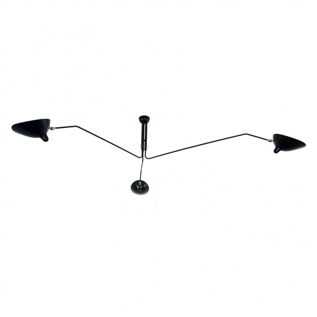 Ceiling Light with 3 pivoting arms