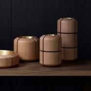Composition vase & bowls