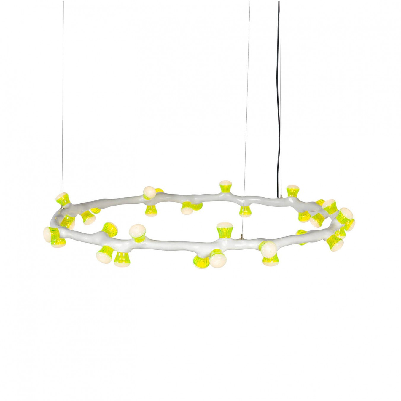 LEDS Clay Pendant Ring Light