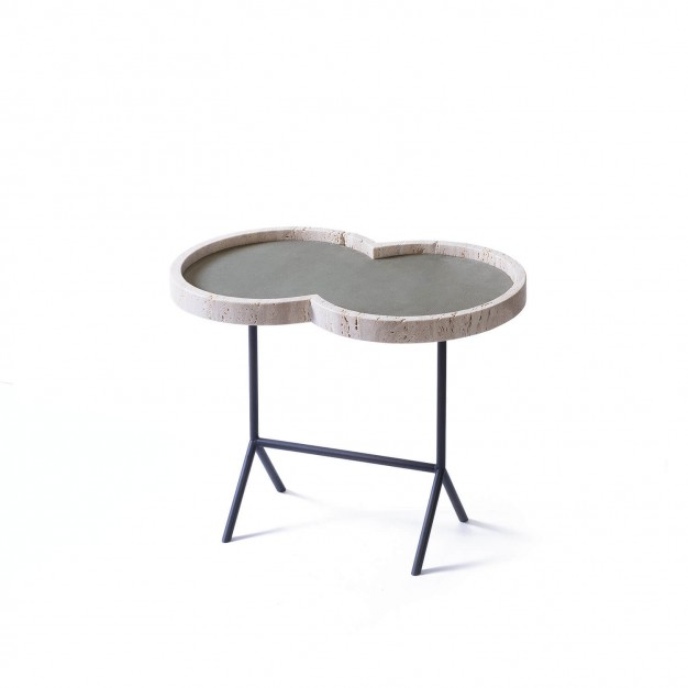 EIGHT OCCASIONAL TABLE travertine