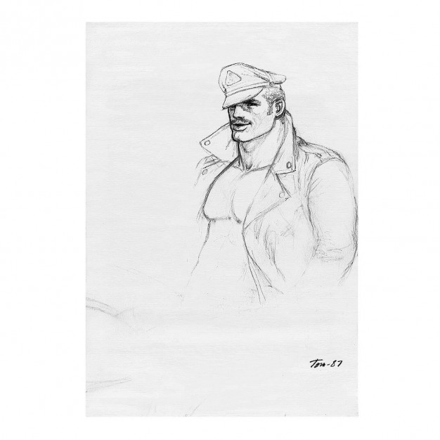 TOM OF FINLAND - Untitled, 1987