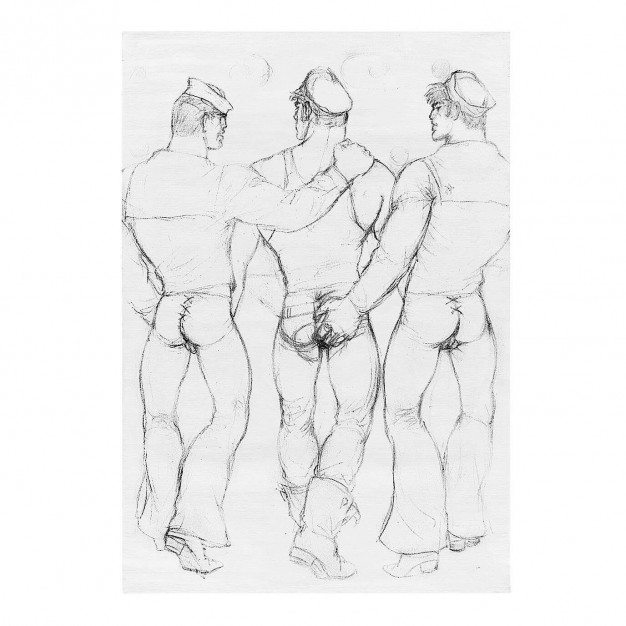 TOM OF FINLAND - Untitled, 1973