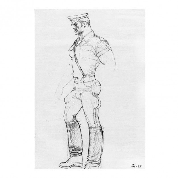 TOM OF FINLAND - Untitled, 1988