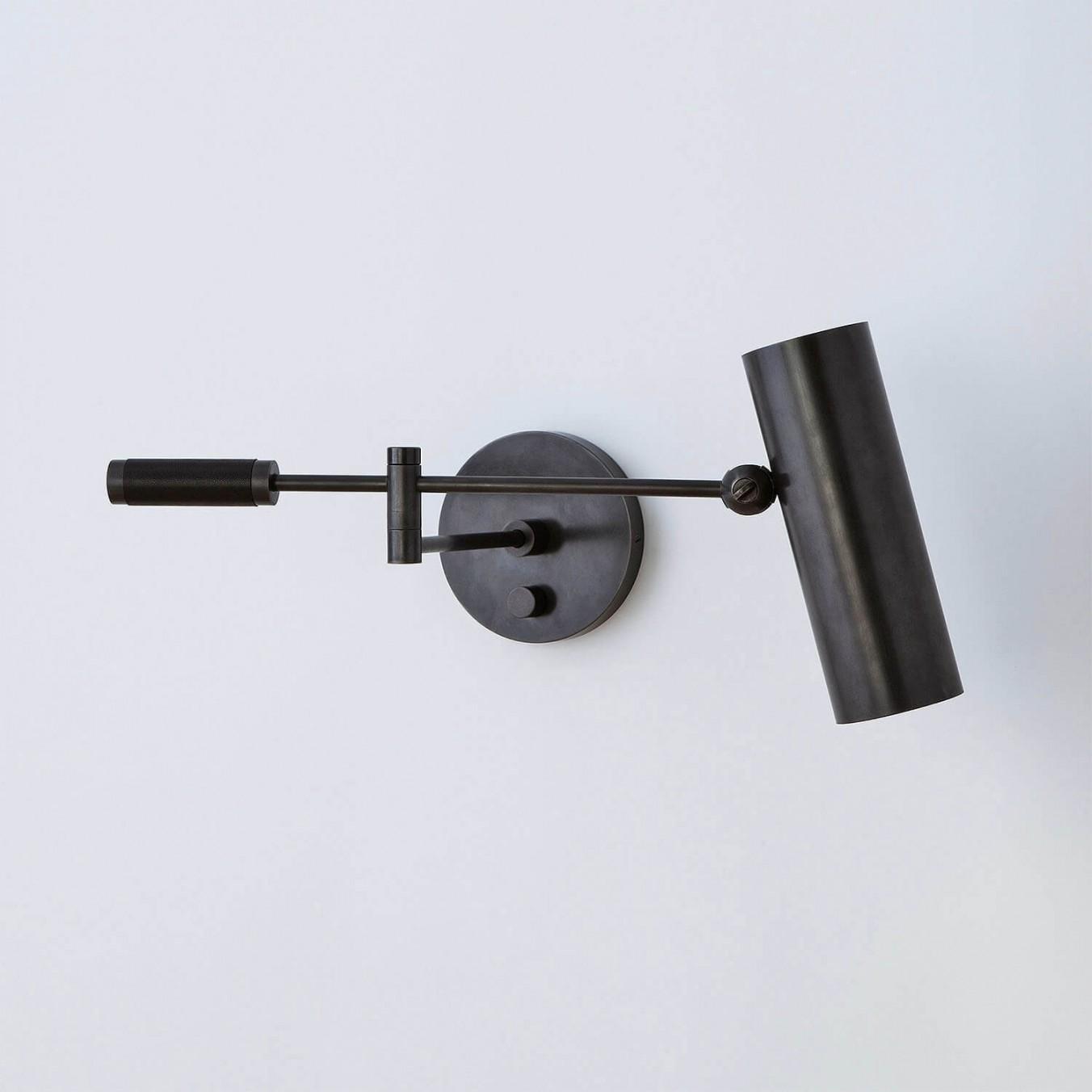 CYLINDER ARM SCONCE