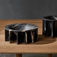 Marble ray bowls