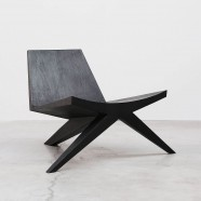 MEN / V-easy chair with ottoman