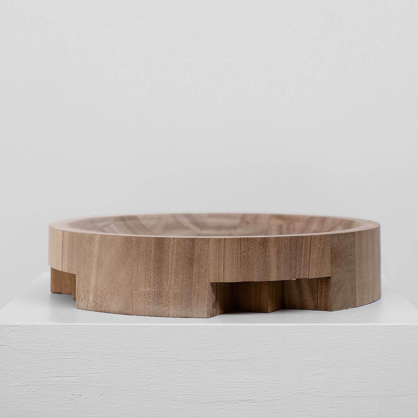 Large disk tray