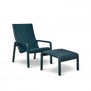 Alexander Street Lounge Chair & Footstool