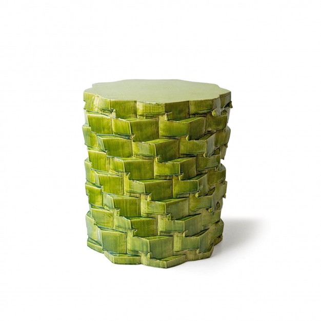 pressed stool with resin | model 2