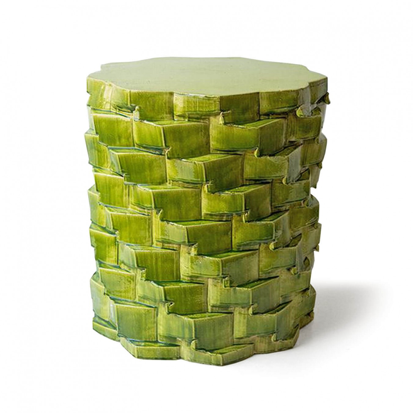pressed stool with resin   model 2