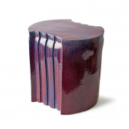 pressed stool with resin | model 4