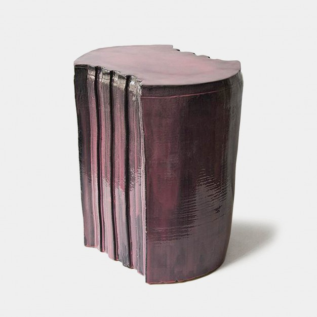 pressed stool with resin   model 4