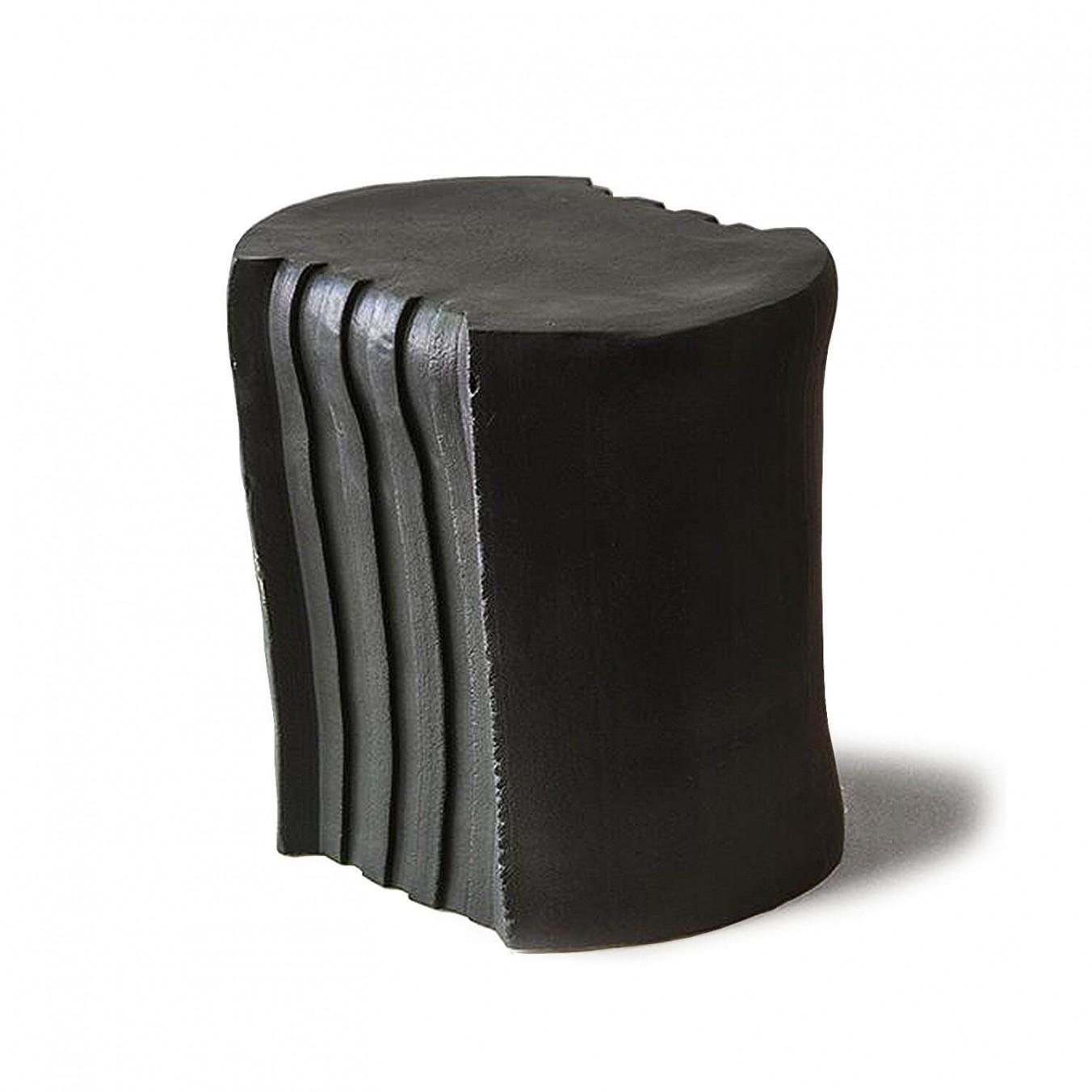 pressed stool with glaze | model 4