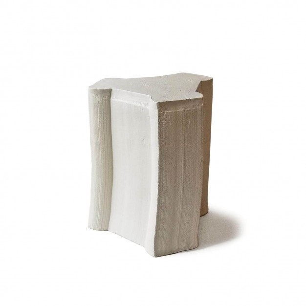 pressed stool with glaze | model 5