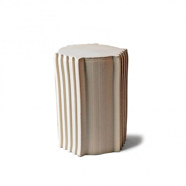 pressed stool with glaze | model 6