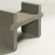 OSSICLE LEATHER STOOL N°1