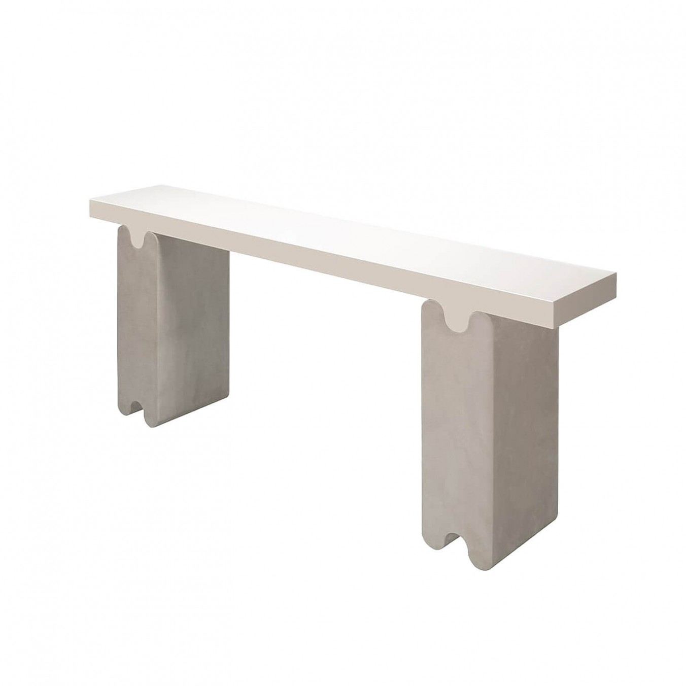 OSSICLE LEATHER CONSOLE
