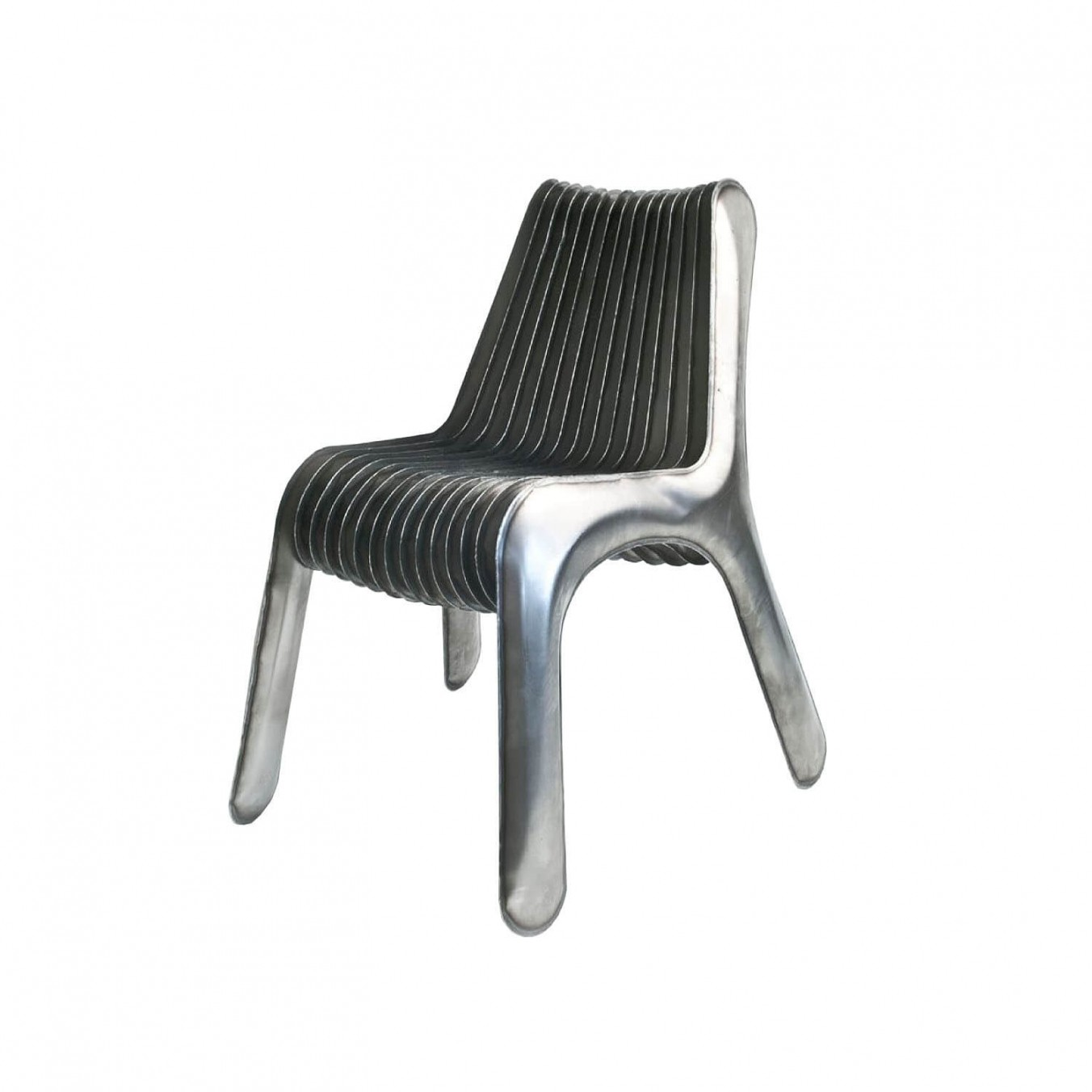 Steel in rotation no3 chair