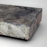 PEWTER COFFEE TABLE