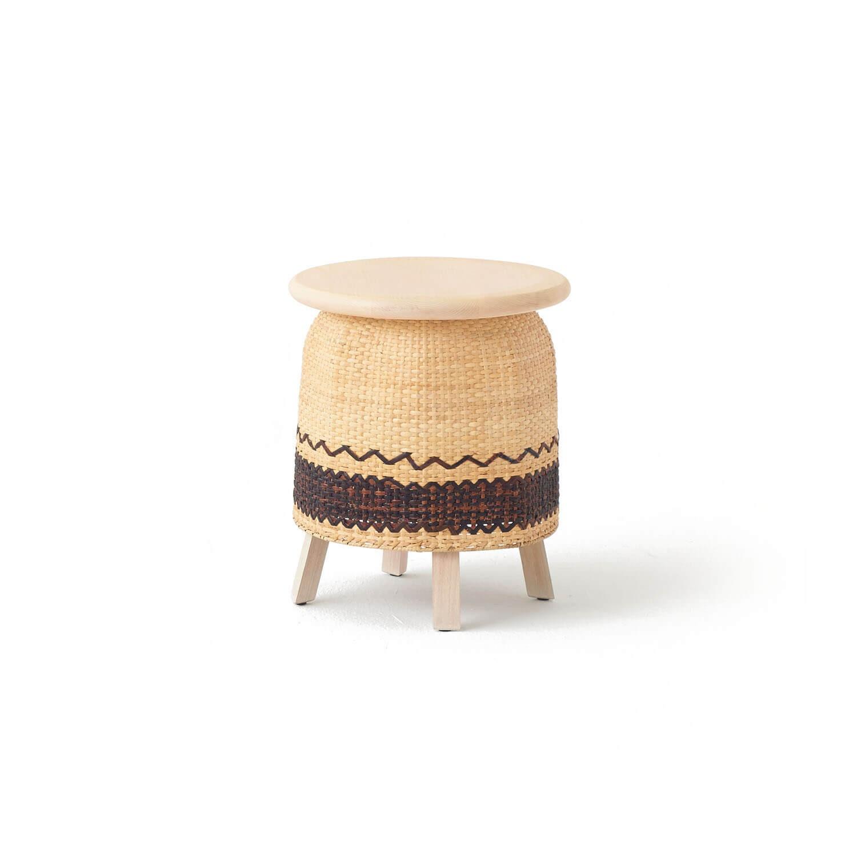 Fantastic Tokyo Tribal Stool E Kooku Lamtechconsult Wood Chair Design Ideas Lamtechconsultcom