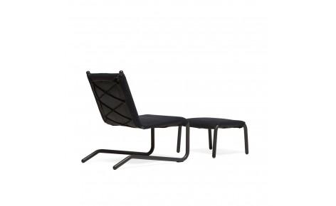 Bowline Chair + Ottoman