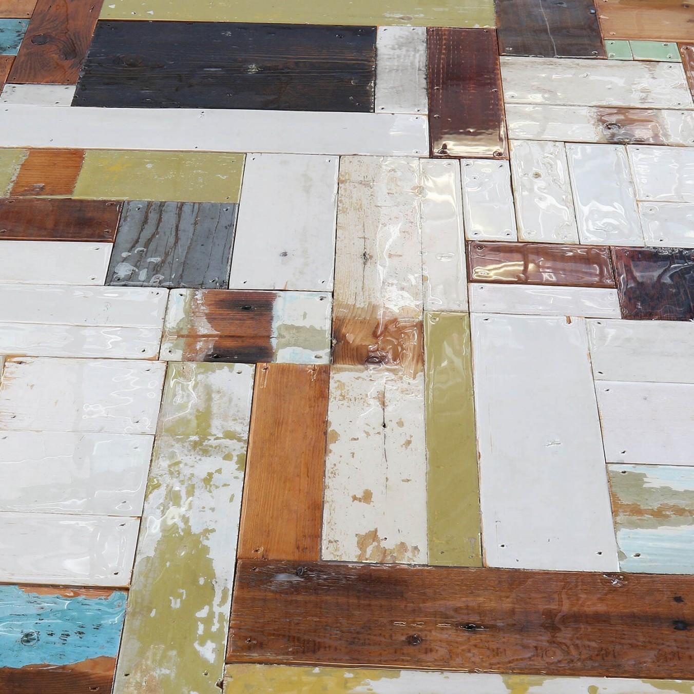 Waste Table in Scrapwood