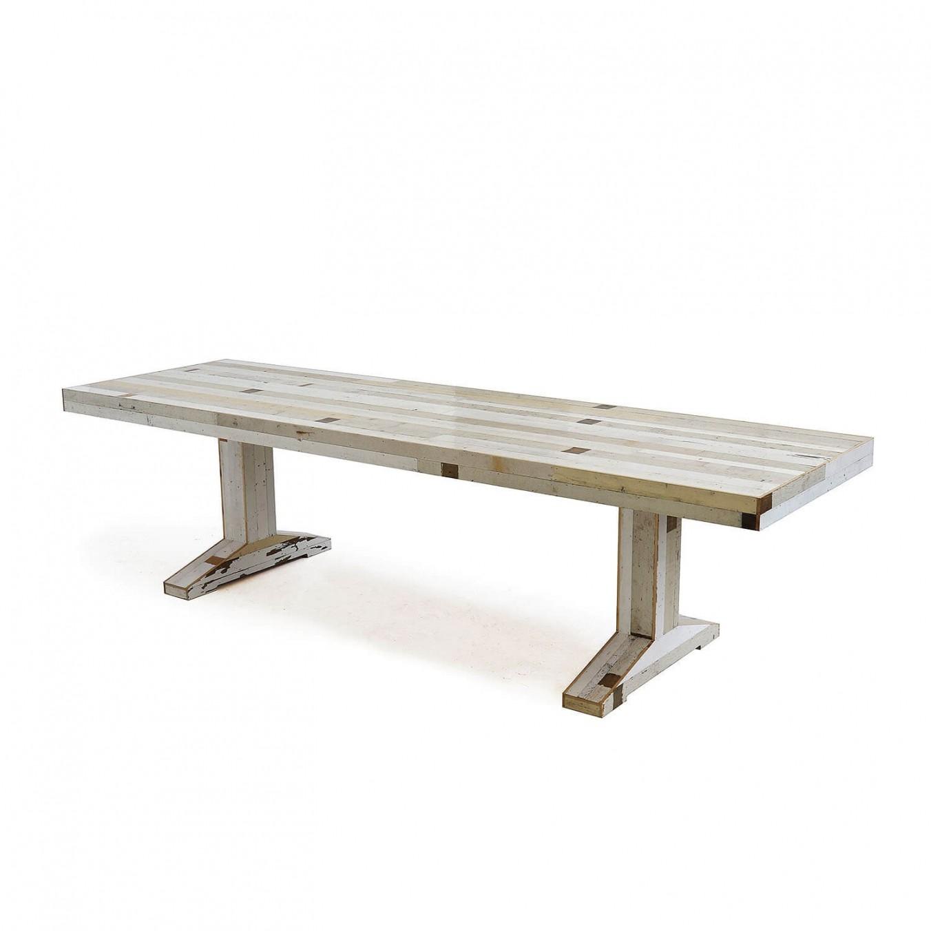 Canteen Table in Scrapwood