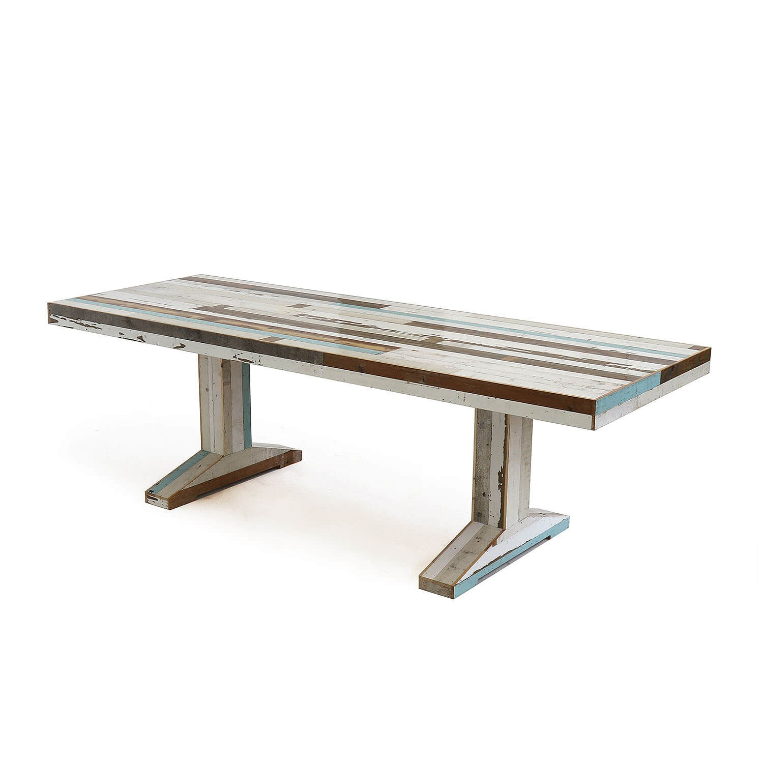 Wondrous Canteen Table In Scrapwood Kooku Ocoug Best Dining Table And Chair Ideas Images Ocougorg